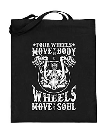 The mit Soul Body Wheels Move Jutebeutel Langen Henkeln Generic Four Two qRnA6wqU1