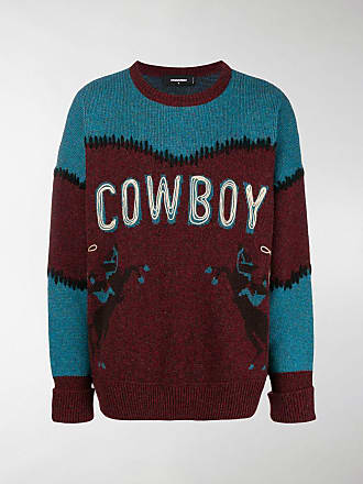 Printed Cowboy Dsquared2 Cowboy Sweater Dsquared2 HIYeW9bD2E