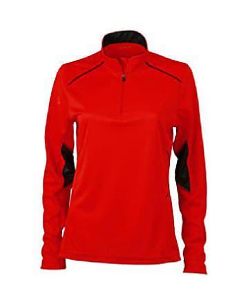 running da James Xs Talla Nicholson Camicia Prenda Rojo Color agqw5O1H1