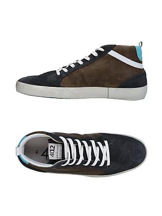 Chaussures amp; Sneakers Quattrobarradodici Montantes Tennis Z4Hdqw