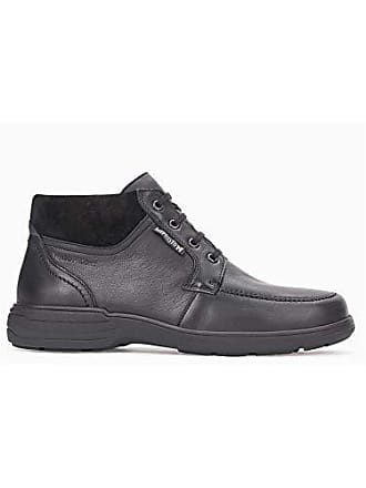 Eu 41 Boots Black Leather Darwin Mephisto Mens 0nkwOP