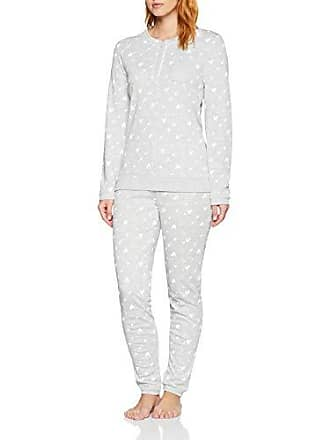 large gris Pijama Para X Pyjama Damart 11012 Thermolactyl Mujer Imprime 4XqznCw1