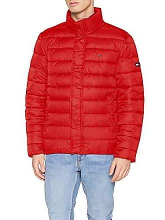 Jeans samba Tommy imbottito guatemalteco manica Giubbotto Medium rosso 602 lunga Men IOzwYP