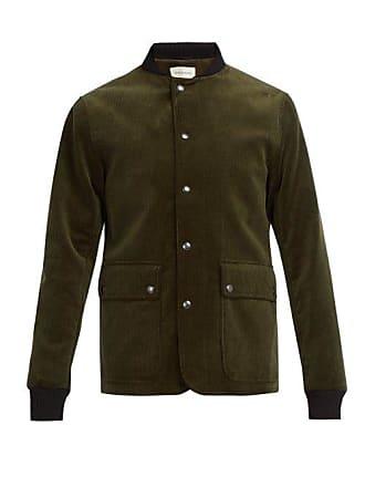 Oliver Spencer Green Berwick Corduroy Cotton JacketMens 2IHWeE9DY