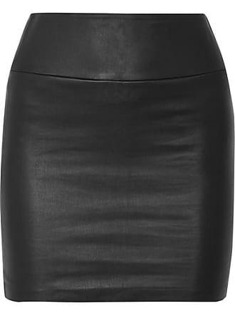 jupe Noir Sprwmn En Mini Cuir 5Z8xq8wR1