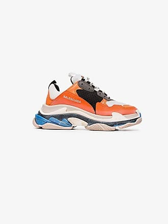 Orange Sneakers Multicoloured S Balenciaga Triple And q7nUFdFwgX