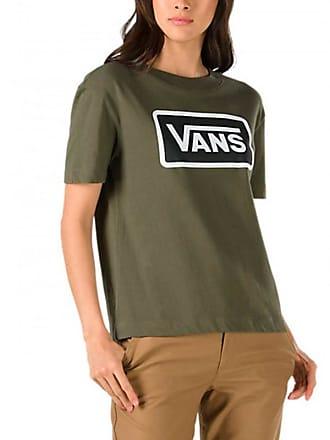Vans Camiseta Boom Boxy S Verde rrYFq1