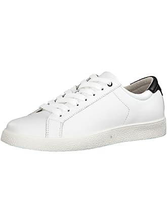 Wit Tamaris Zwart Tamaris Laag Sneakers Sneakers HZ7XdqZwx