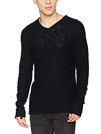 X Friday Homme 20501316 50003 Pull Noir Large black Casual d0wvxAqFq