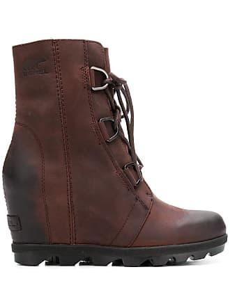 Marron Boots Ankle up Lace Sorel FRAXP8x