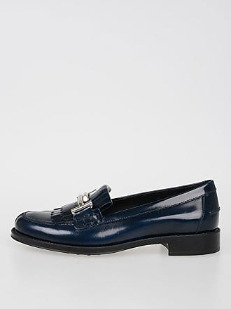 With 35 Größe Tod's Leather Fringes Loafers jLUVGpzqMS