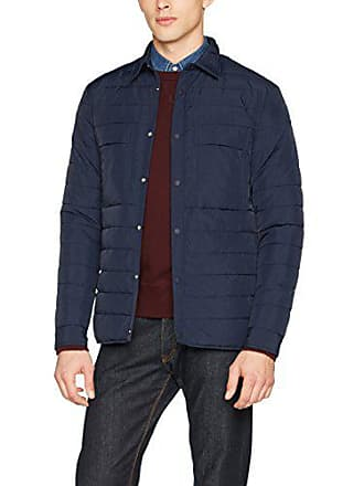 bleu French Connection Shirt Homme Marine Large Classic Chemise Casual Quilt n0CSPqw10
