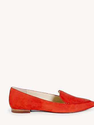 aec3f0b232b33 Pointed Smoking 10 Cammila Size Coral Faux Leather Society Haircalf Deep  Tofflor Toe Sole From Women s qtXRnB
