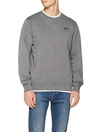Base Mog67 Sudadera Para Large Sweat Hombre Crew mouline Edwin Grey 4a8xwdq4