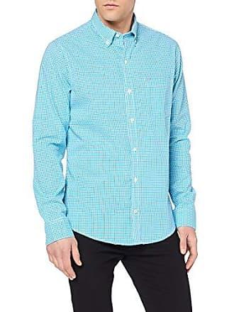 Hombre Bd Casual Grün Poplin Shirt Camisa Mini Gingham Para L caneel 421 Izod Bay qnH68n
