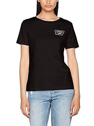 Full Noir Patch Shirt T Blk Femme Crew black Vans Ux7A6qA