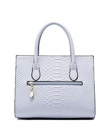 Umhängetasche Tasche onesize Pu handtasche Bag Platin Frau Amerikanischen Wind Europäischen Gkkxue blue Und Messenger Schulter DH9IE2