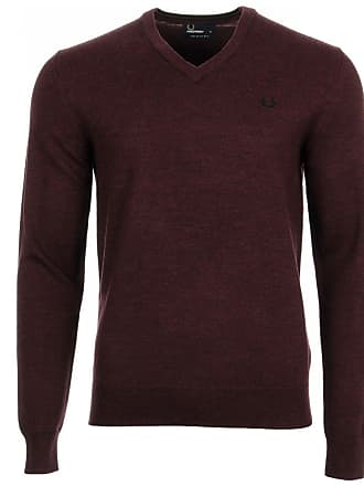 Fred Classic V Neck Sweater Perry qra68Zq