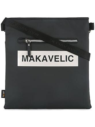 Logo Makavelic Bag Schwarz Box Ludus Shoulder Z44xpEBq