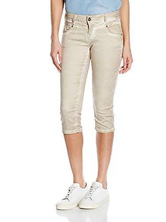 Braun Mujer 65 sand W26 Rea Shorts d o Capri M Para apfq6Oa