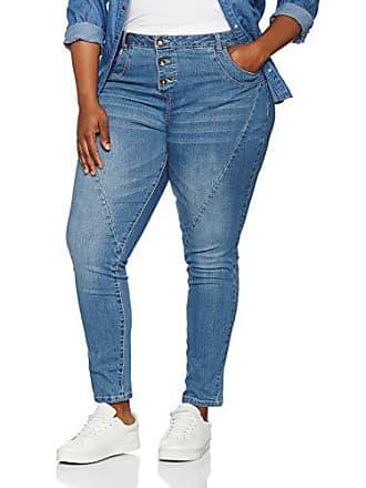 KLänge Ulla Jeans Popken Damen Große Größen 70027392 Ziernähten Slim Jeanshose Mit CrdeWxBo