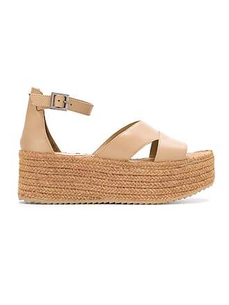 Neutres Chofakian Sandals Leather Flatform Sarah Tons dwXxTZStZq