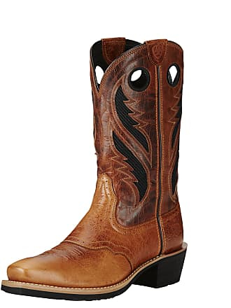 Boots Ariat Western In Medium 41 Size Gingersnap Mens Leather Width D Heritage Venttek By 5 Roughstock gXIgU