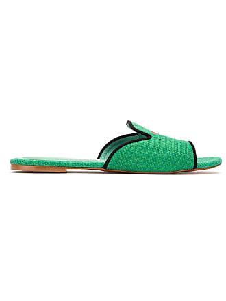 Bird Cotton Blue Shoes SlidesVerde Melancia UMpSzV