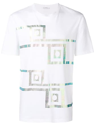 Met shirt T Wit Print Versace Collection WgYvFF