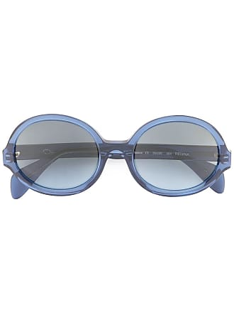 Tondi Occhiali Renta Di Blu Colore Da Sole De La Regina Oscar x6pYFY