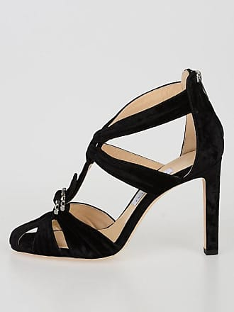 Choo 10 Krissy London Jimmy Velvet Sandals Size 36 Cm fdqUzxFvnw
