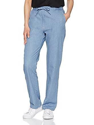 Femme bleu Enfilable taille l32 Pantalon W44 Fabricant 08015 Damart Chambray 54 qxEOTwBIgn