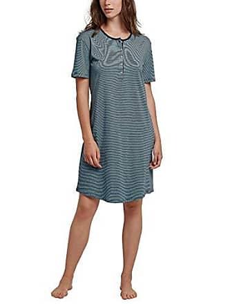 Schiesser Mujer Nachthemd nachtblau 2 100cm Azul 052 1 804 54 Arm Fabricante Del talla Camisón THTwYrqC