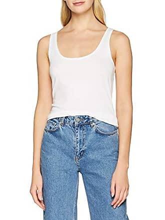 Esprit By 997cc1k816 Edc small white Sin X Para 100 Mangas Blanco Camiseta Mujer q511d