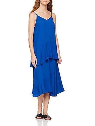 taille 42 40 Vila Midi Dress Fabricant Femme S Clothes Robe l Web The Vijadyn Surf Bleu 7ZRqO7B