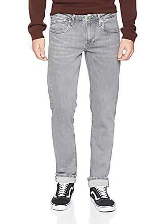 London Pepe Gris Slim Hatch l30 denim Hombre Vaqueros Jeans Para W28 Wy0 UFqFwA5