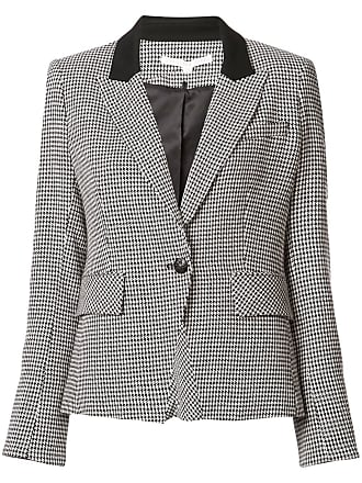 Beard Breasted Jacket Marrone Plaid Veronica Double Color wOxPaqPY