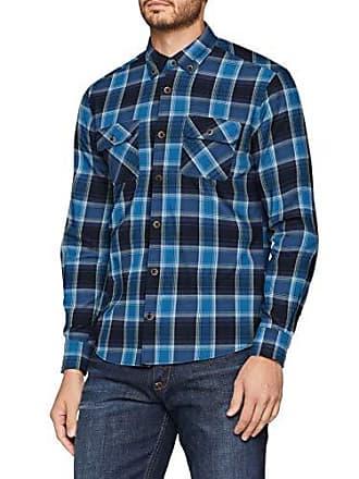 13 Camisa Para S 3541 Hombre oliver 57n2 midnight Blau 809 L Casual 21 qX6X5