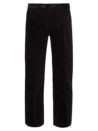 Black Haider Corduroy TrousersMens Ackermann Cotton FcK1Jl