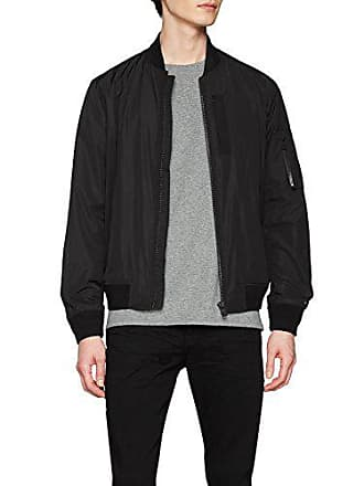 Tape Large Tommy jet Black Jacket 083 For Hilfiger Men Nero Bomber vxxr51