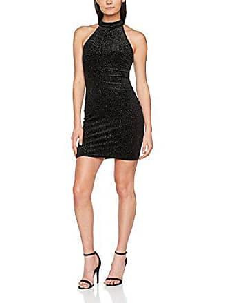40 Glitter Mujer Wow Fiesta Vestido black New De Para Go 1 Look Negro q7wywc14