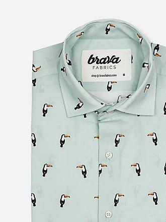 Tucan Fabrics Tropical Camisa Brava Estampada qfB0ww6