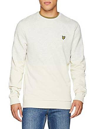 Homme seashell White Ecru Scott Sweat Sweatshirt Marl Shirt Block Lyle amp; 0Fqwx66a
