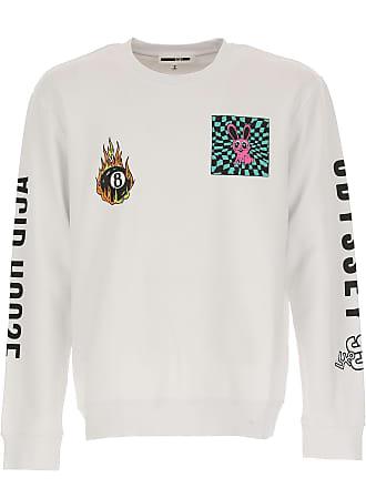 Sweatshirt Günstig By Alexander Für Mcqueen Mcq WeissBaumwolle2017L HerrenKapuzenpulliHoodieSweats Im SaleOptik 8mn0wN