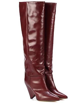 Foncé128 Jusqu''à En Rouge Cuir −68 Chaussures Produits 2HIED9