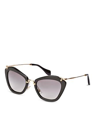 Schwarz 10ns Sonnenbrille Miu Mu Gold Grau Verlauf 1ab3m1 n8IAZx1A