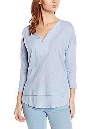 T 34 Shirt lilac Bleu Manches Femme Betty amp; Co qXwRHxfE