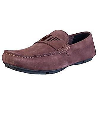 Herren Armani Emporio Driving Schuhe Shoe Braun rrqxZw