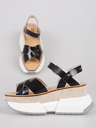 With Maison Mm6 37 Wedge Sandal Heel Leather Margiela 5 Size OPXZiTku