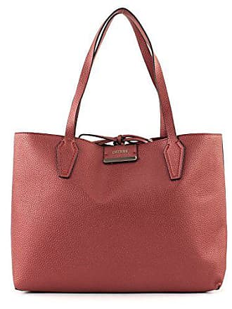 Bobbi velvet Tote Bordeaux Guess Inside Out q5R3Aj4L